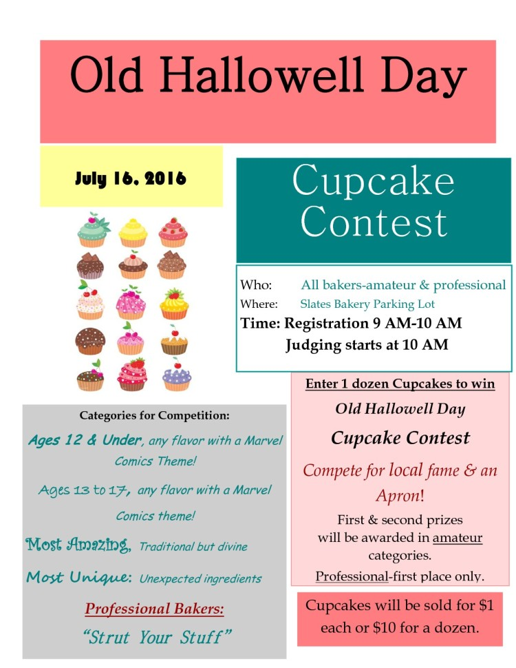 Cupcake Contest 2016