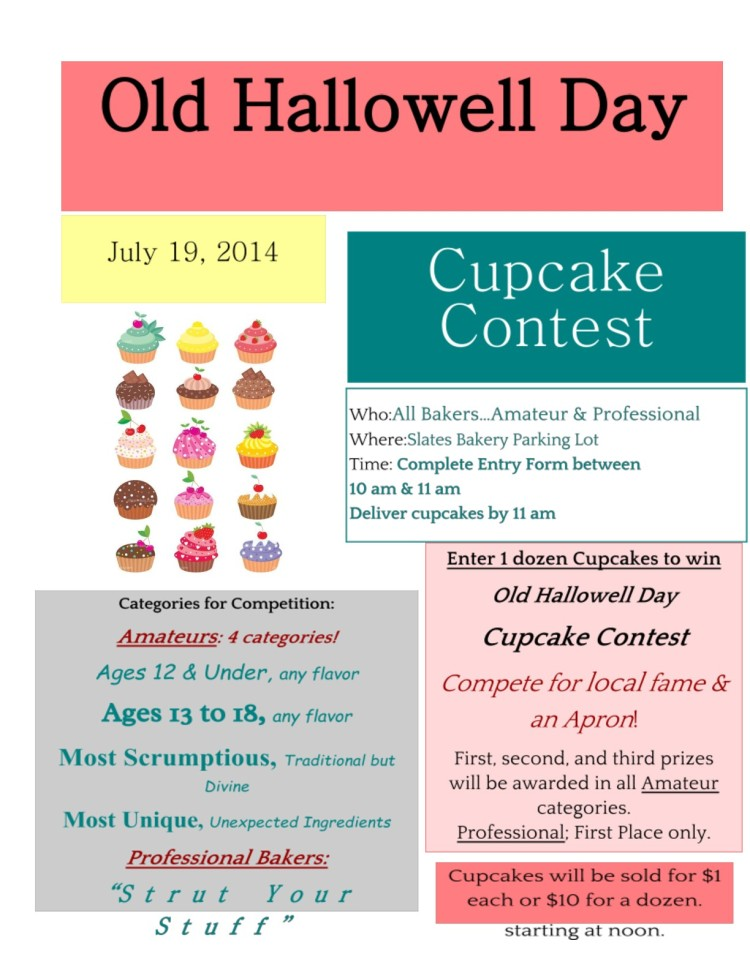 Cupcake Contest Poster 2014
