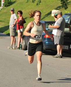 Rosalea Kimball - women's race winner 2010
