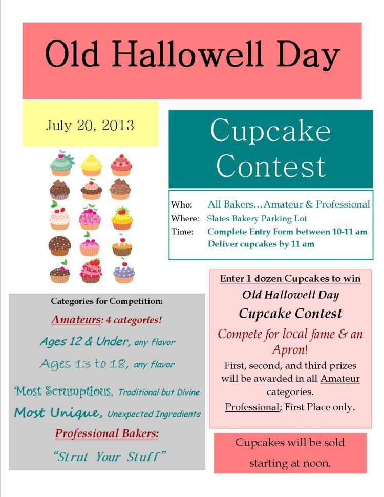 Cupcake Contest 2013