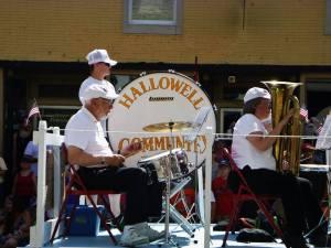 Hallowell Community Band photo 2013 Richard bostwick