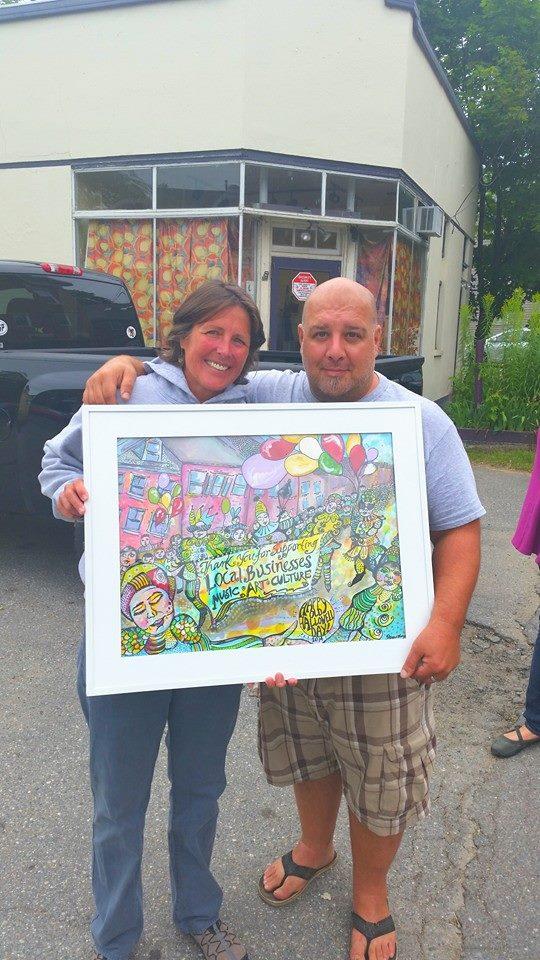 Shelly Browne & Bruce Mayo
