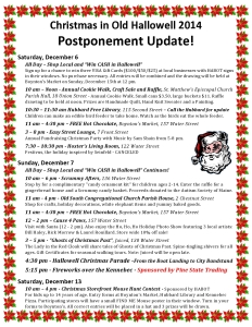 UPDATE Christmas in Old Hallowell