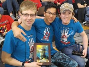 Delta Prime Robotics Gracious Professionalism Award Rhode Island 2016