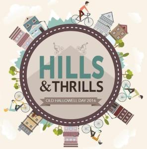 Hills Thrills logo